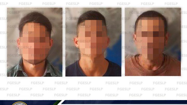 POR PROBABLE TENTATIVA DE HOMICIDIO FISCALÍA DETUVO A TRES INDIVIDUOS