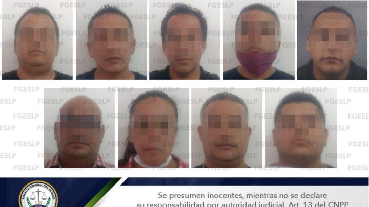 FGE LOGRA PRISIÓN PREVENTIVA PARA NUEVE POLICÍAS DE SGS POR PROBABLE HOMICIDIO SIMPLE