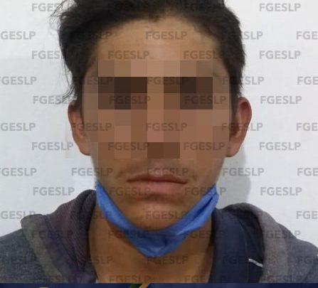 AGENTES DE FISCALÍA DETIENEN A PRESUNTO VIOLADOR DE MENOR DE EDAD EN SLP