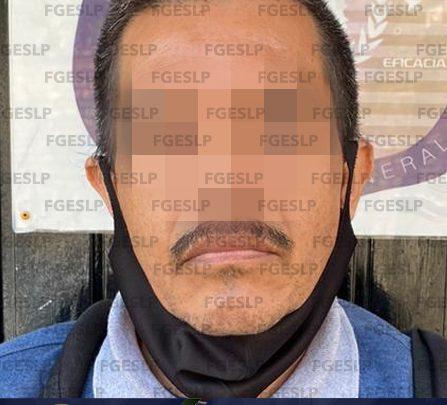 FGE DE SLP CAPTURA A HOMBRE POR PROBABLE VIOLACIÓN DE UN MENOR EN XILITLA