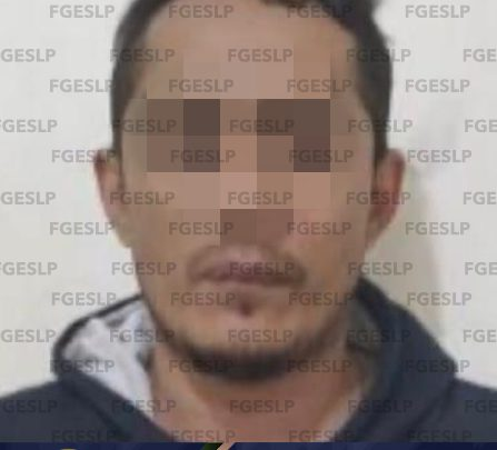 FISCALÍA CAPTURA A UN SUJETO POR TRIPLE HOMICIDIO EN EL SAUZALITO DE SLP