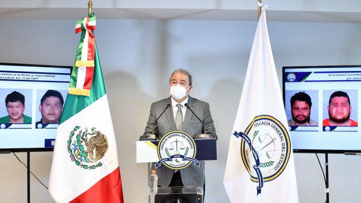FISCALÍA DE SLP DETIENE A CUATRO PROBABLES IMPLICADOS EN HOMICIDIO DE PRESIDENTE DE COPARMEX